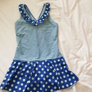 Lands end girls size 10 swimsuit